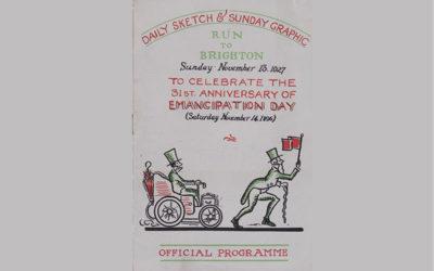 London to Brighton 1927